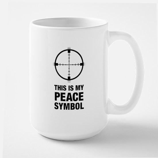 Peace Symbol Large Mug