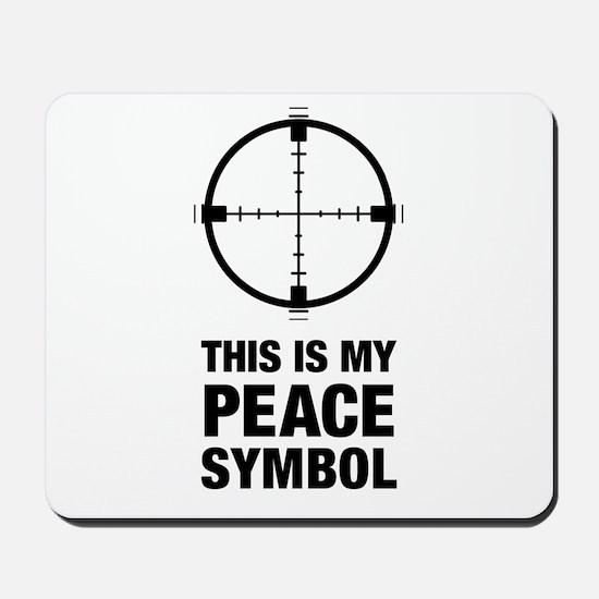 Peace Symbol Mousepad