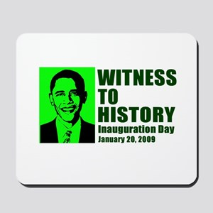 Witness to History Mousepad