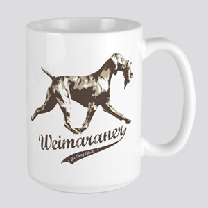 Weimaraner the Gray Ghost - Large Mug