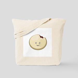 Red Bean Bun Tote Bag