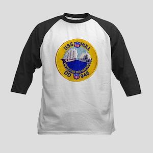 USS HULL Kids Baseball Jersey