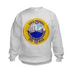 USS HULL Kids Sweatshirt
