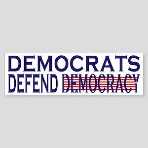 Democrats Defend Democracy