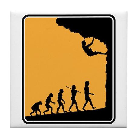 Rock Climber Tile Coaster