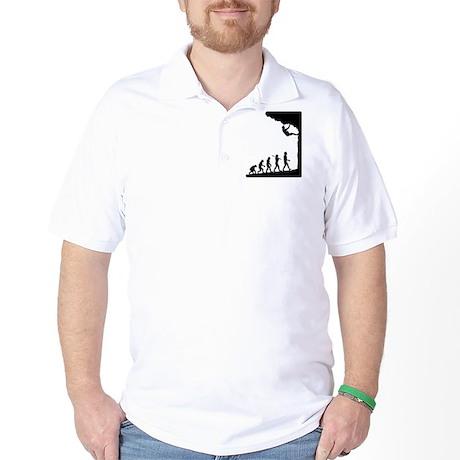 Rock Climber Golf Shirt