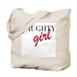 Naughty Girl Tote Bag