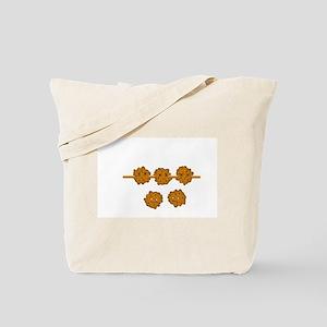Shrimp Balls on a Stick Tote Bag