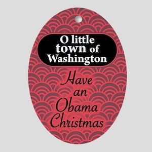 O little town of Washington ornament