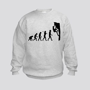 Rock Climber Kids Sweatshirt