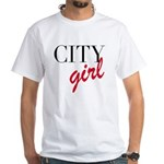 City Girl White T-Shirt