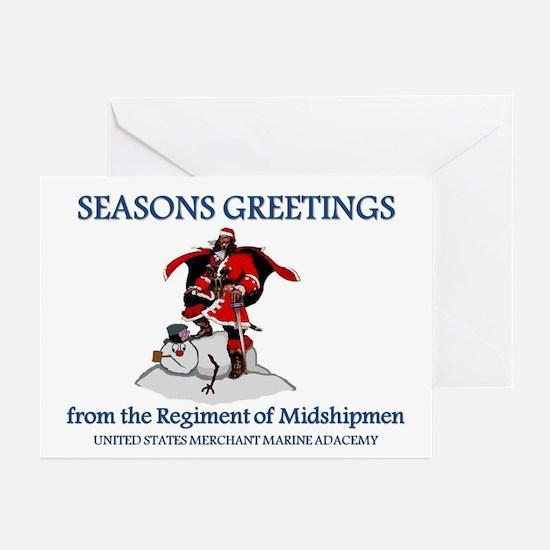 Mariner Santa Greeting Cards (Pk of 10)