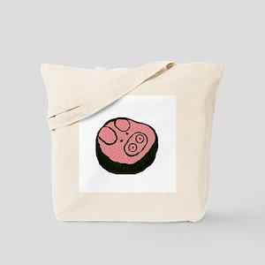 Pig Sushi Tote Bag