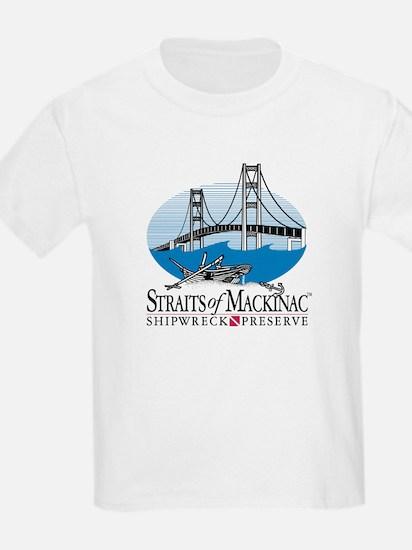 Mackinac Bridge logo T-Shirt