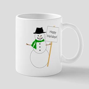 Snowman Holidays Mug