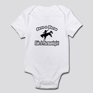 """...Ride a Pharmacologist"" Infant Bodysuit"