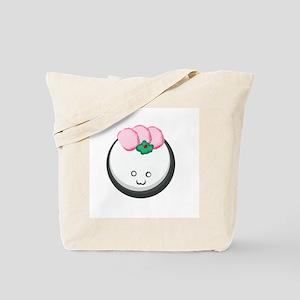 Salmon Sushi Ball Tote Bag