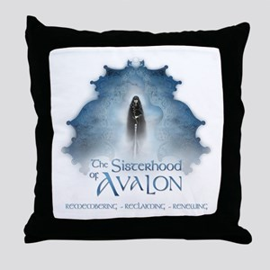 SOA Priestess Barge Throw Pillow