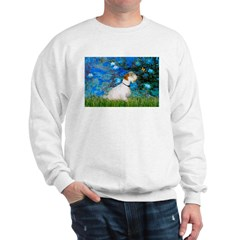 Lilies (#3) / Sealyham (L1) Sweatshirt