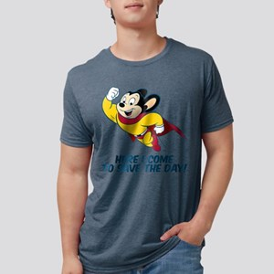 Mighty Mouse Here I Come T-Shirt