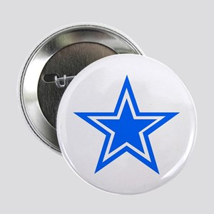 "Blue Star 2.25"" Button"
