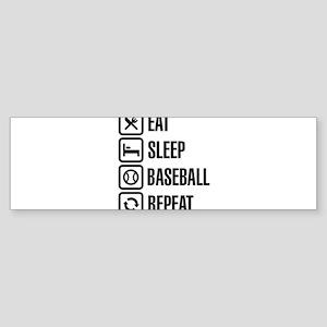 Eat, Sleep,Baseball / Softball, Rep Bumper Sticker