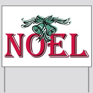 Noel Yard Sign