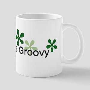 Green is Groovy Mug