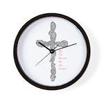 Pierced (Is 53:5) Wall Clock