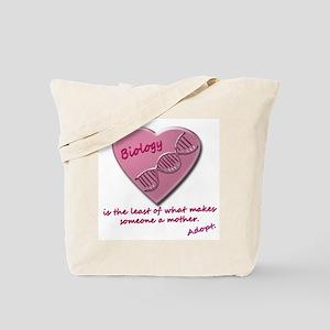 Adoption Biology Tote Bag