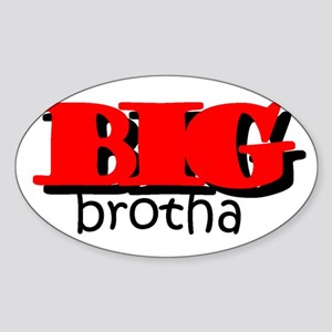Big Brotha Oval Sticker