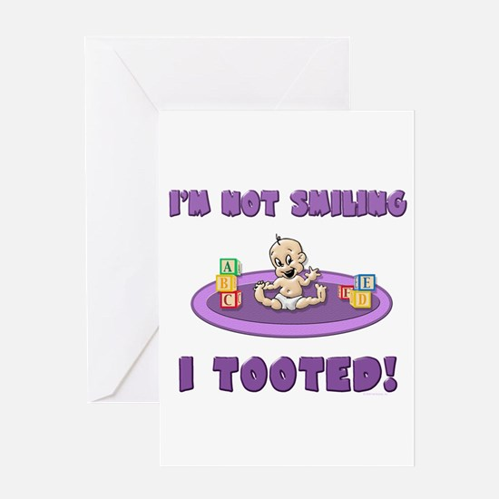 I Tooted! Greeting Card