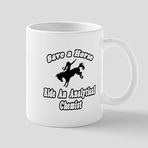 """Ride Analytical Chemist"" Mug"