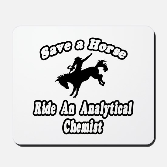 """""""Ride Analytical Chemist"""" Mousepad"""