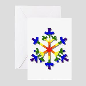 Fruit Flake Greeting Cards (Pk of 10)
