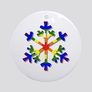 Fruit Flake Ornament (Round)