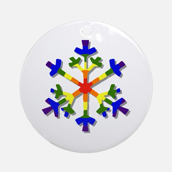 Fruit Flake Ornament (Round)