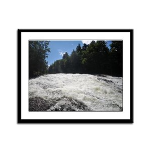 9X12 Framed Print- Adirondack Waterfall 7