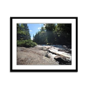 9X12 Framed Print- Adirondack Waterfall 6