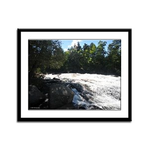 9X12 Framed Print- Adirondack Waterfall 3