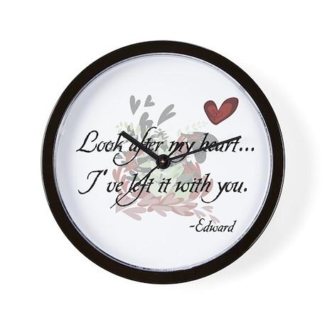 Twilight Quote Wall Clock