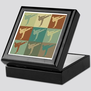 Karate Pop Art Keepsake Box