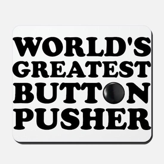 WTD: World's Greatest Button Mousepad