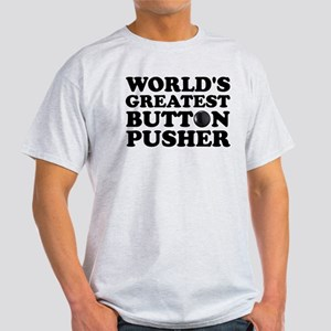 WTD: World's Greatest Button Light T-Shirt