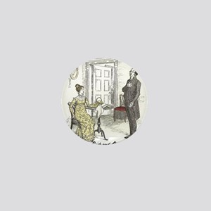 Pride & Prejudice Ch 19 Mini Button