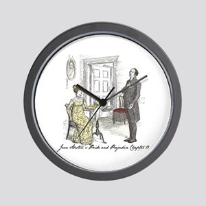 Pride & Prejudice Ch 19 Wall Clock