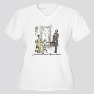 Pride & Prejudice Ch 19 Women's Plus Size V-Neck T