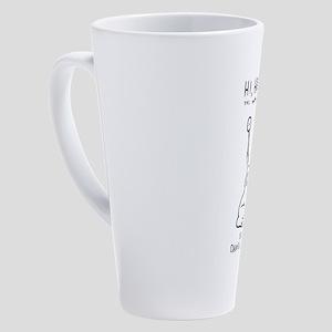 Daniel Johnston - Hi, how are you 17 oz Latte Mug