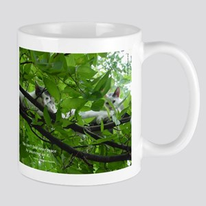 Nick of Time Rescue Cat Mug
