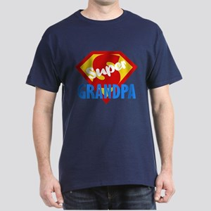 Super Grandpa Dark T-Shirt